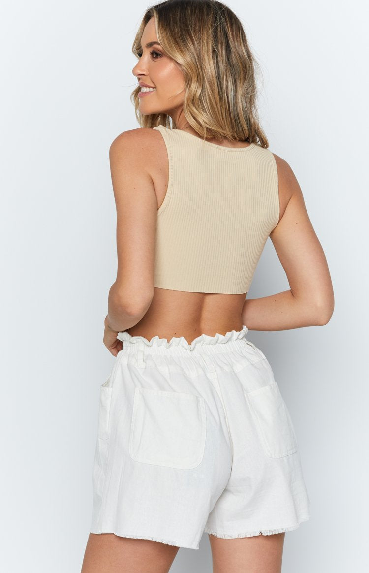 Kaya Shorts White