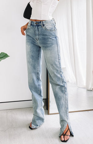 Lioness Alabama Jean Light Denim
