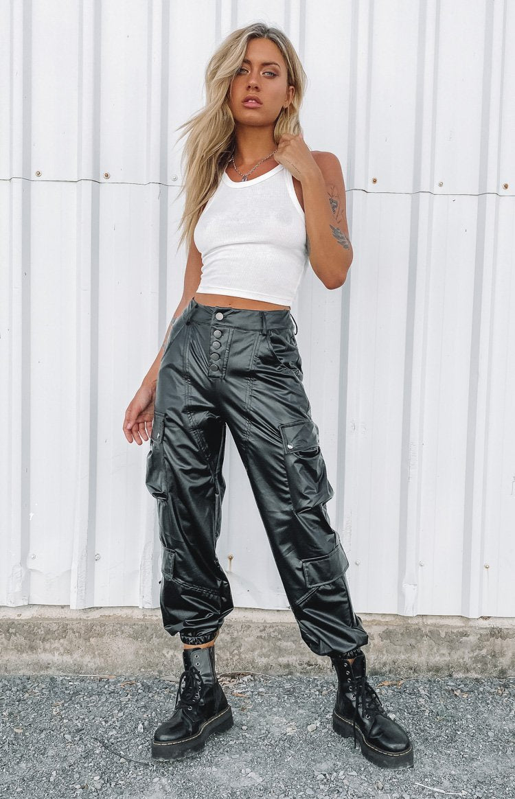 Lioness Cypress Pants Black PU