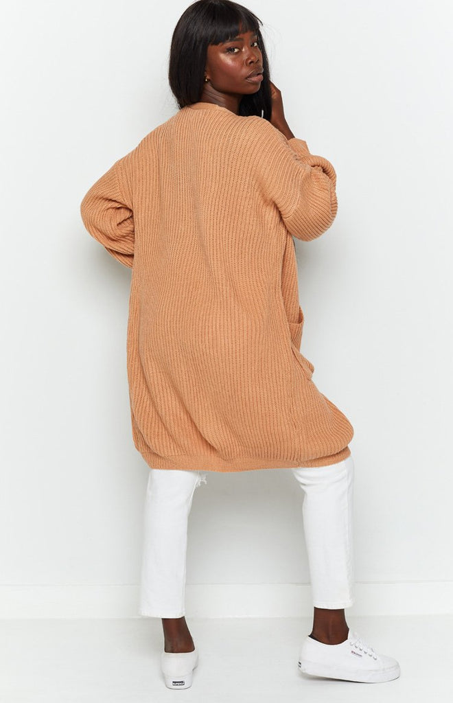 Loving Is Easy Cardi Caramel 8