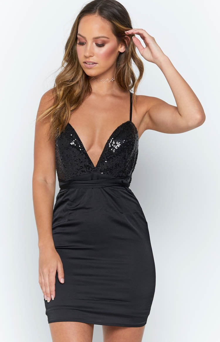 Lucid Dream Dress Black
