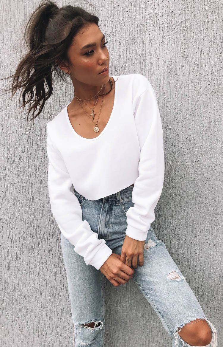 Marion Sweater White