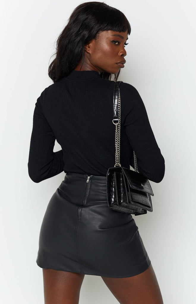 Nights With You Skirt Black 5