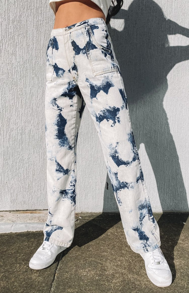 Origami Jeans Bleached Denim 4