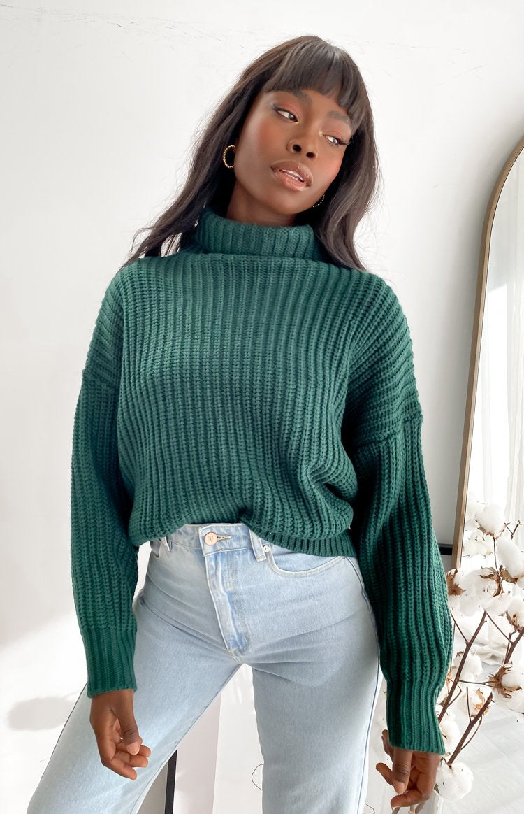 Pellegrino Knitted Sweater Green