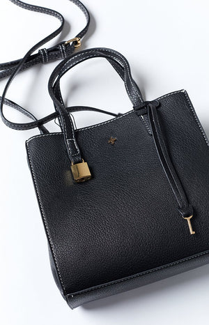 Peta & Jain Macey Mini Tote Black