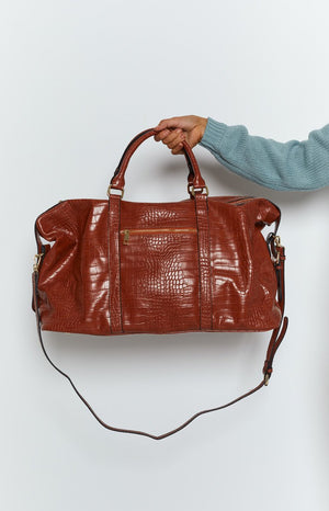 Peta & Jain Reagan Bag Tan Croc