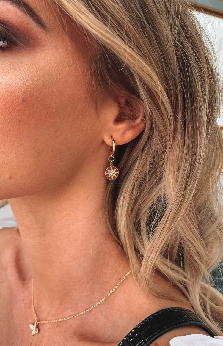 Eclat Pippa Earrings Gold
