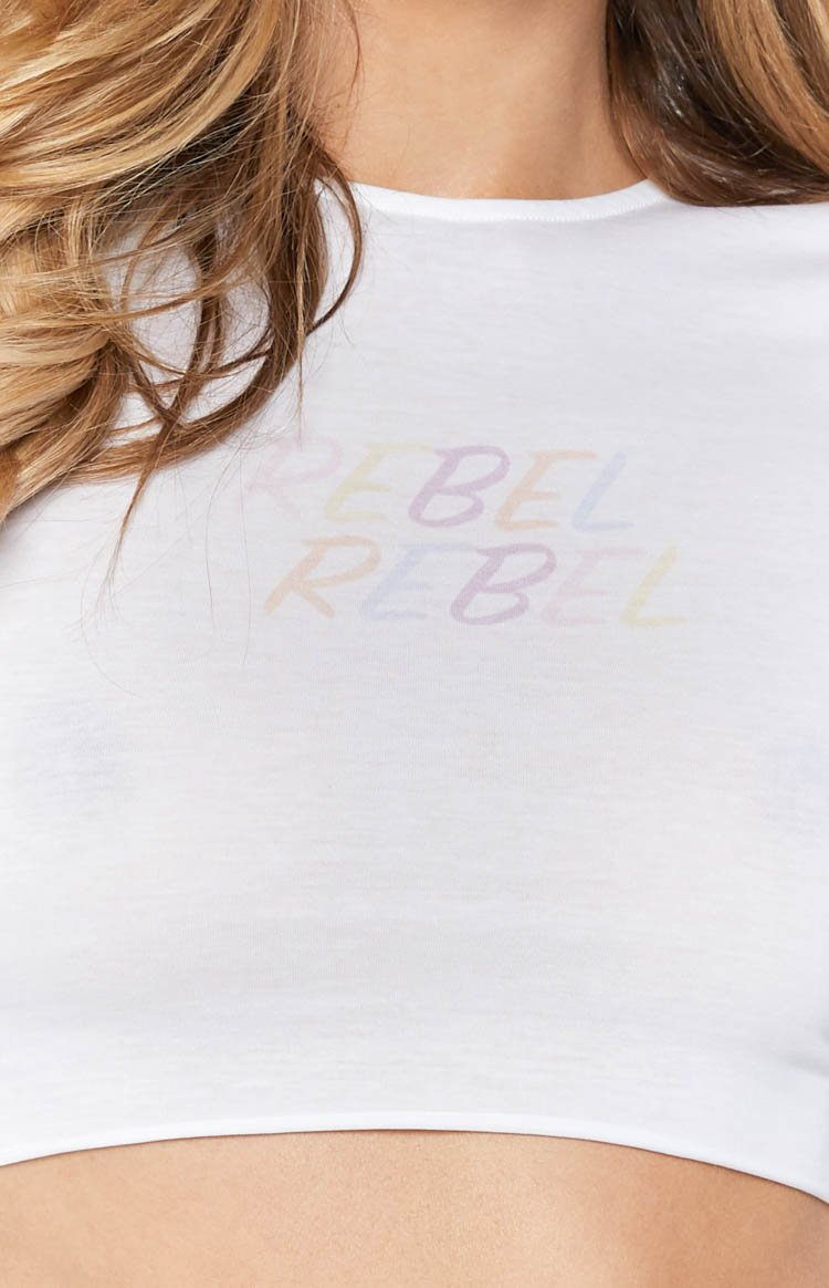 Rebel Lettuce Tee White