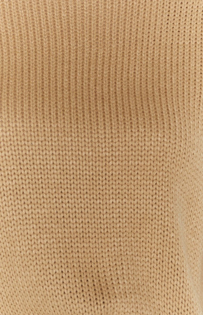 Recharge Knit Sweater Tan 9