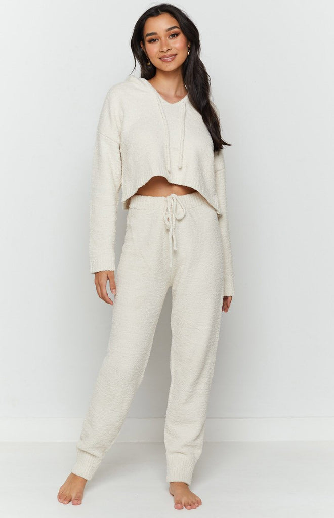 Sakura Track Pants Cream 5