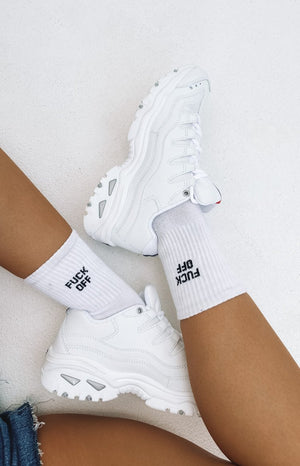 Skechers Energy White