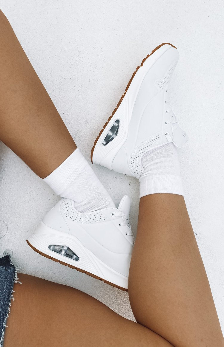 Skechers Uno Stand On Air White