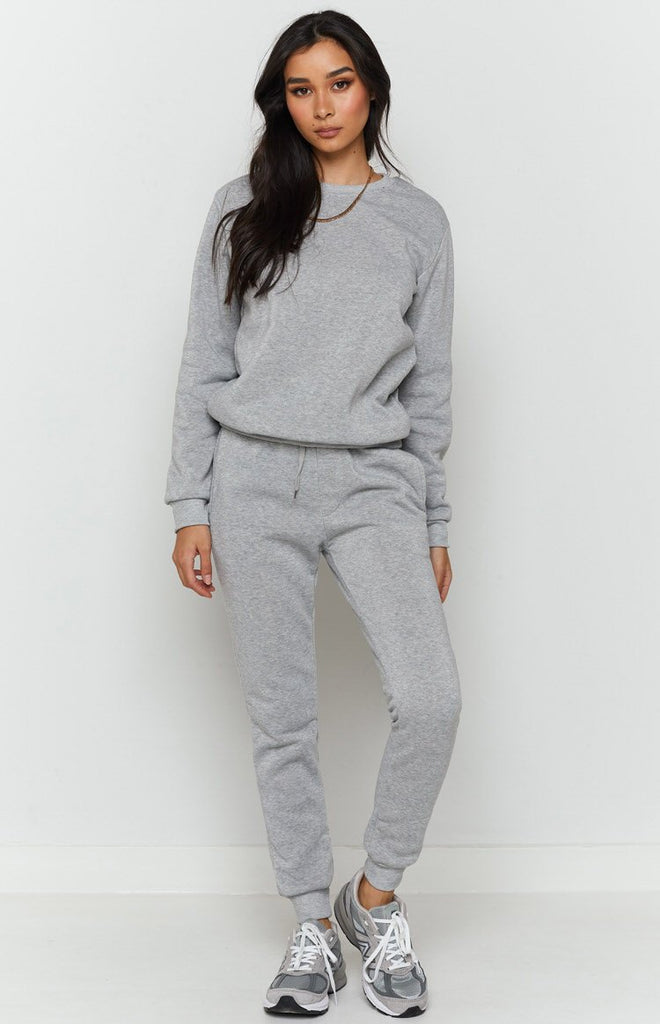 Sports Wear Track Pants Grey 10