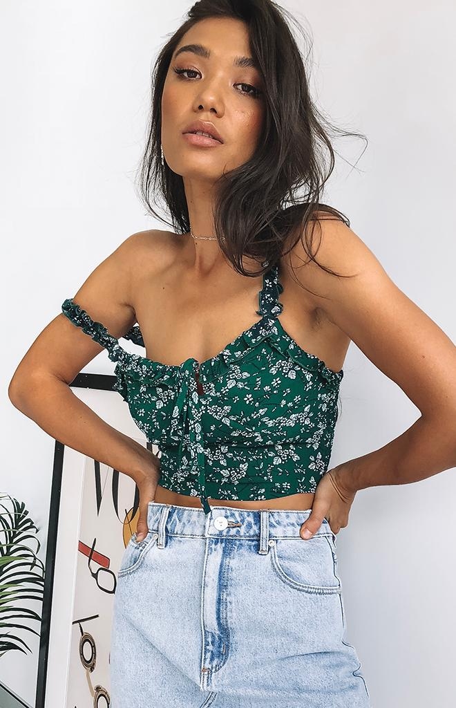 Spring Breeze Top Green