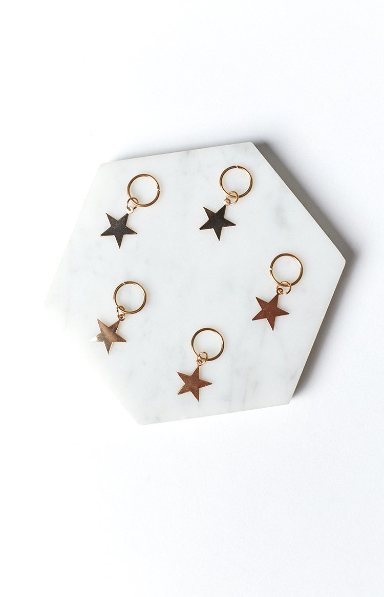 Starlight Hair Rings Gold