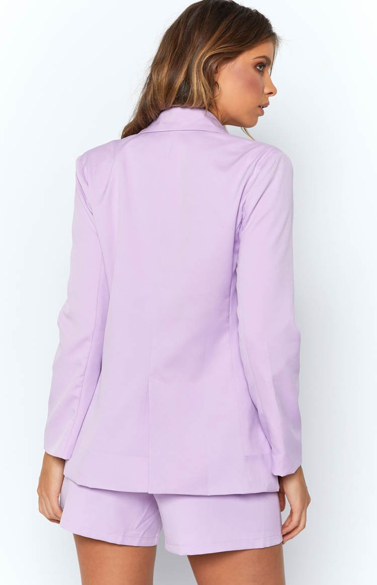 Teenage Dream Blazer Lilac
