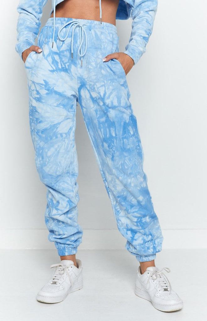 The Creator Track Pants Blue Tie Dye 5