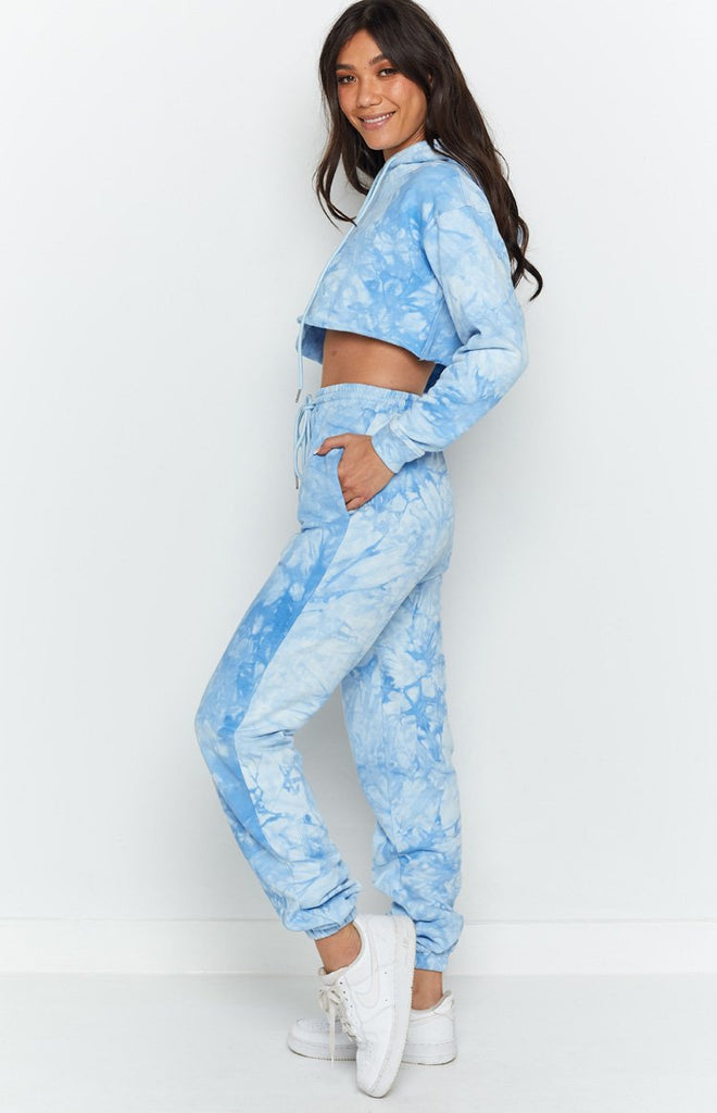 The Creator Track Pants Blue Tie Dye 6
