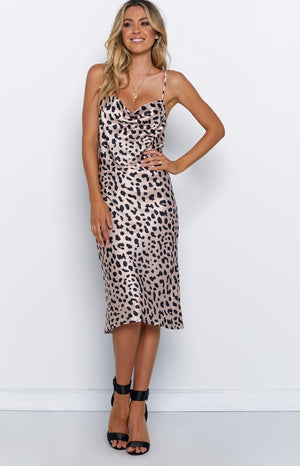 Tinashe Dress Leopard