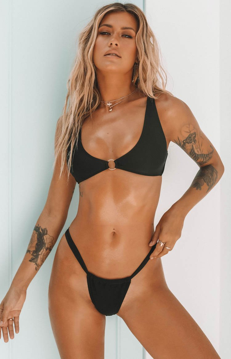 9.0 Swim Willow Bikini Bottoms Black