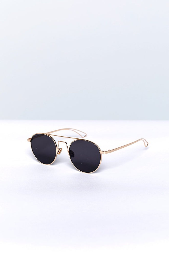 Eclat Love Me Right Sunglasses Gold Grey