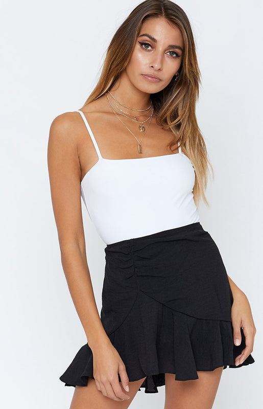 Ring Of Fire Skirt Black