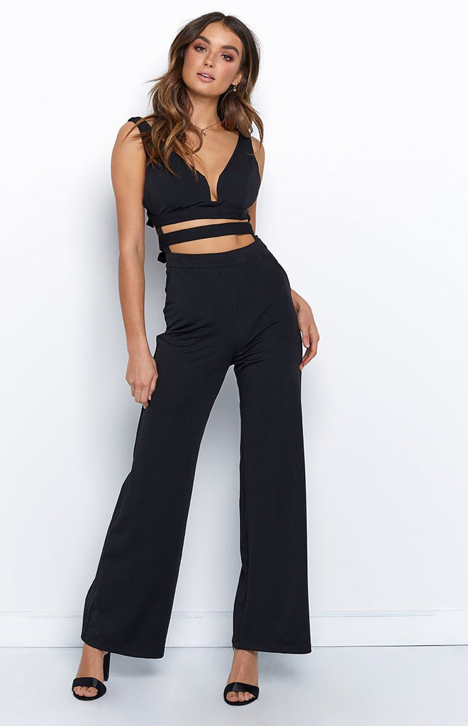 Feel Alive Jumpsuit Black