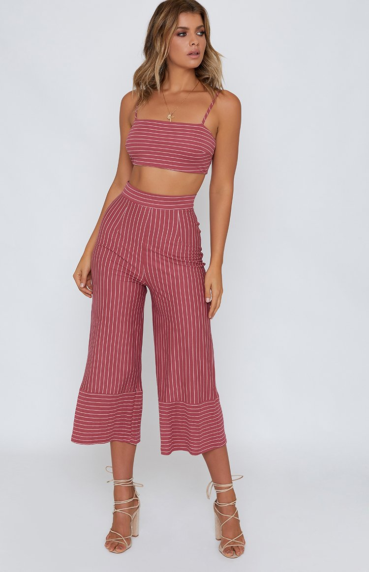 Spiced Up Pants Red