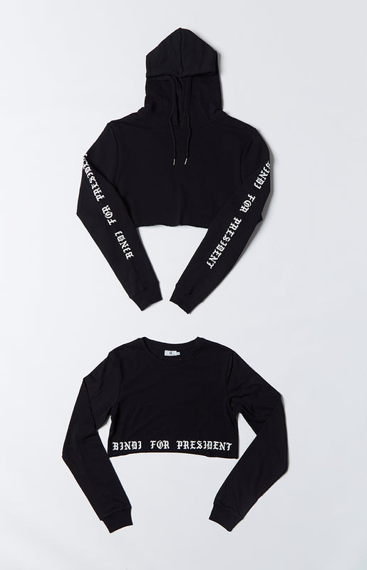 Michael X Shani Bindi For President Cropped 2 Pack
