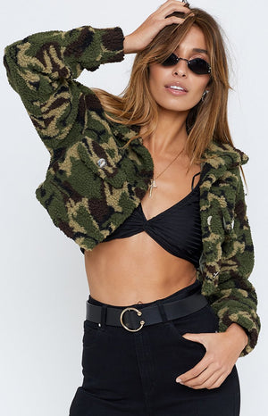 Barracks Jacket Camo