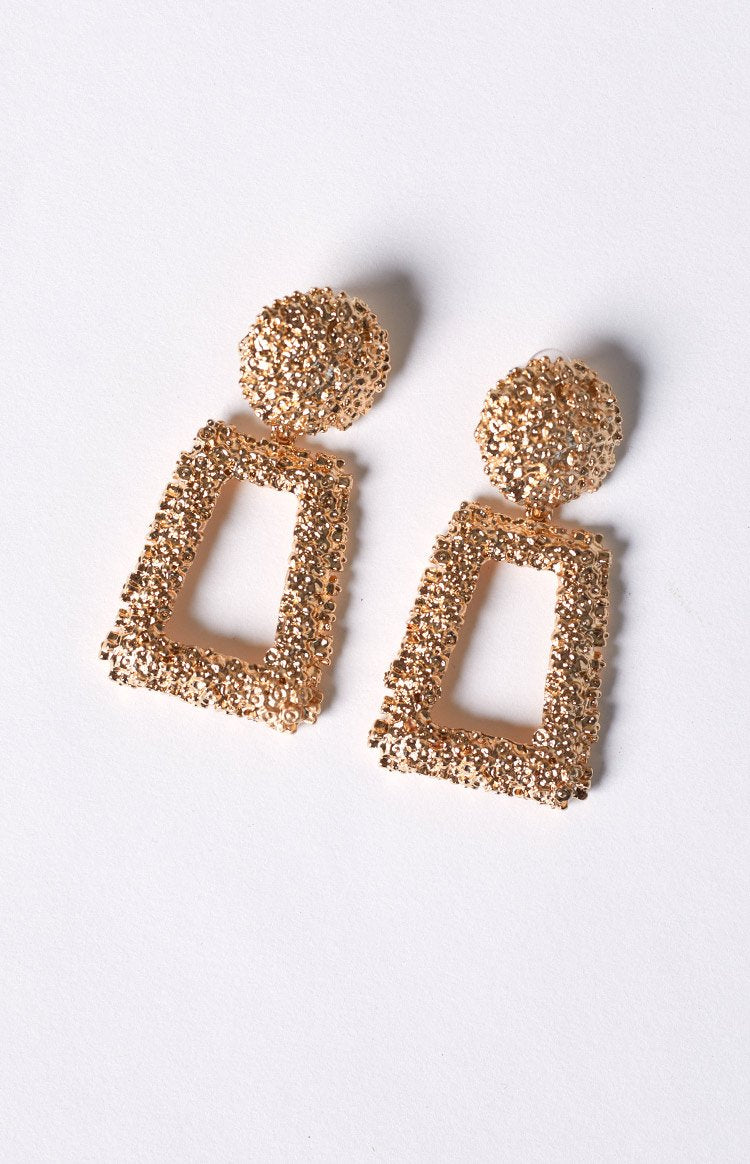 Eclat Cleopatra Earrings Gold