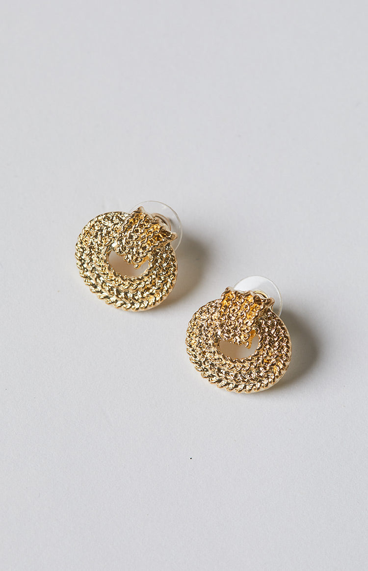 Eclat Naples Earrings Gold