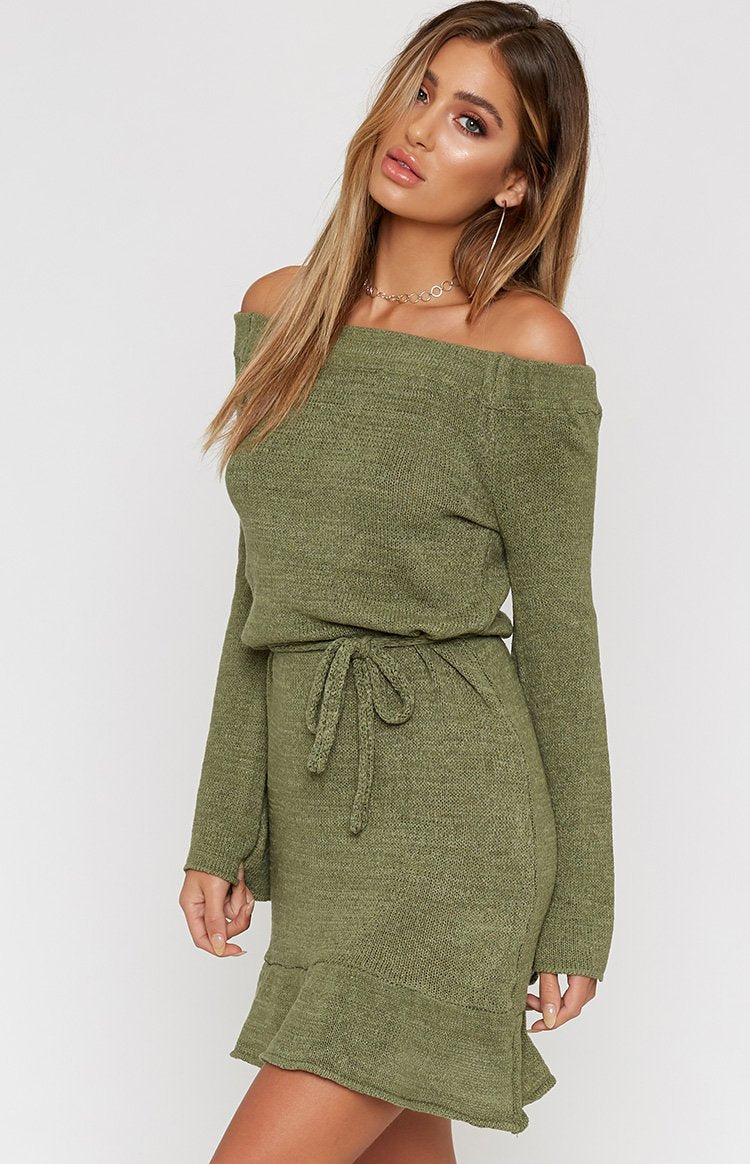 Himalayas Dress Khaki