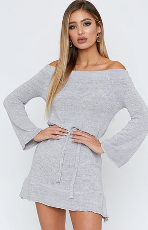 Himalayas Dress Grey