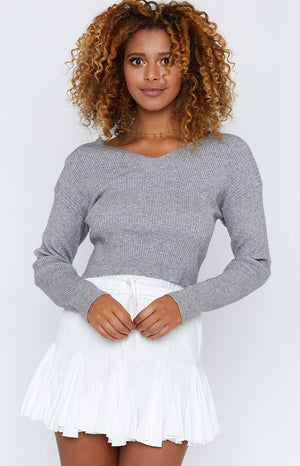 Casual Elegance Jumper Grey
