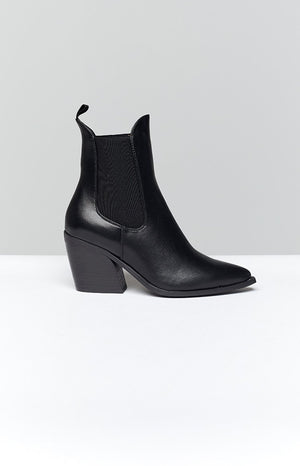Therapy Josette Boots Black Smooth