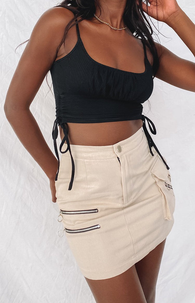 Kalea Crop Top Black 3