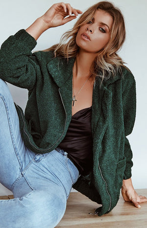 Passionfruit Coat Green