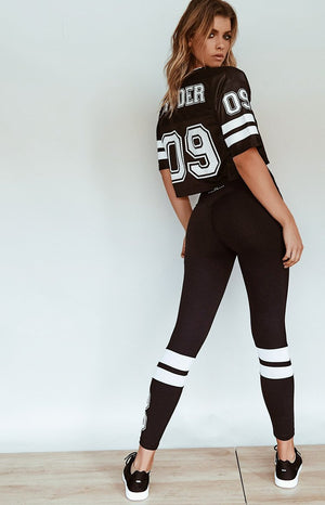 Ryderwear Hold Up Varsity Jersey Black