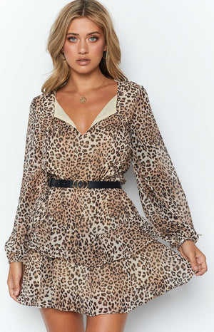Jennifer Dress Leopard