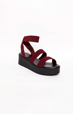 Therapy Rafter Platform Sandal Berry