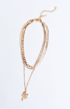 Eclat Florence Necklace Gold