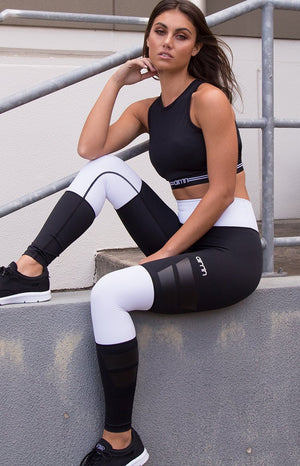 Aim'n Goal Squad Tights Black/White