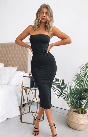 Emilie Dress Black