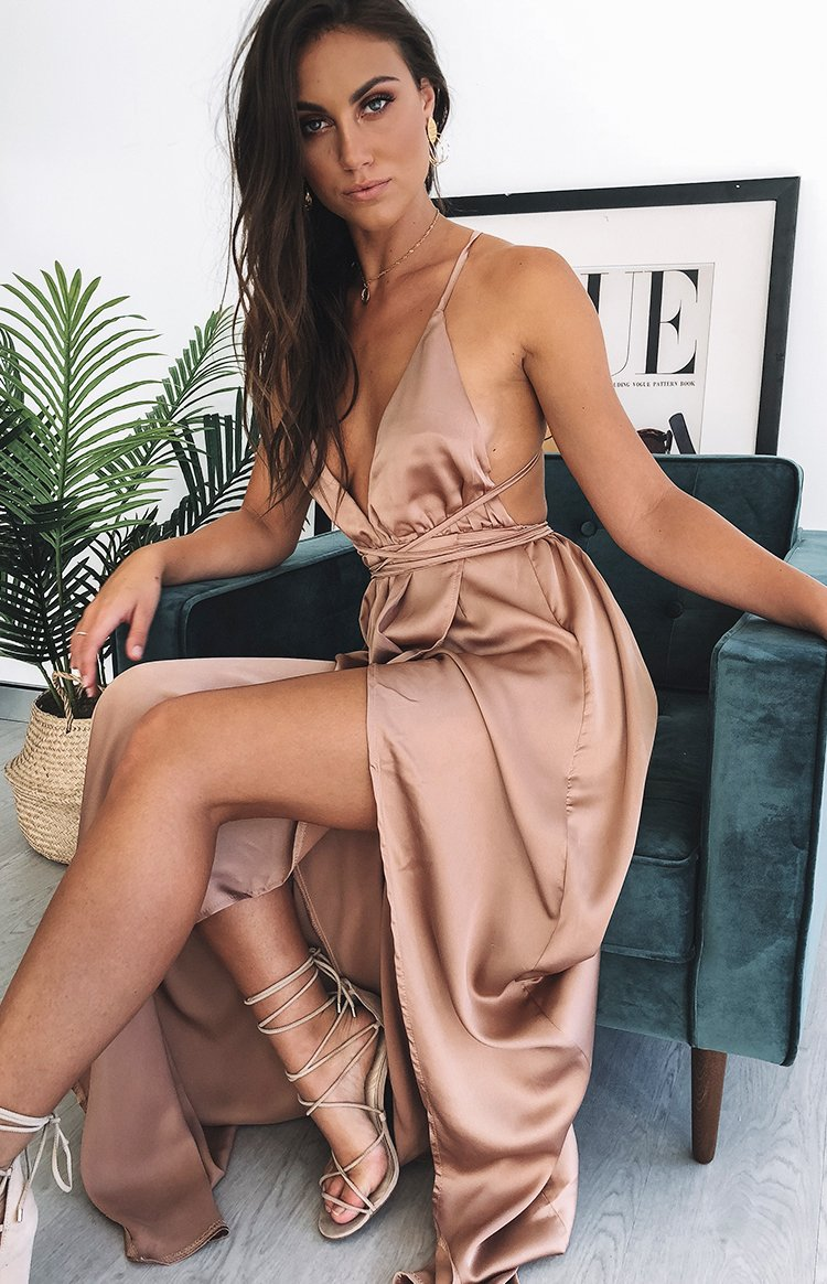 Estelle Maxi Dress Blush
