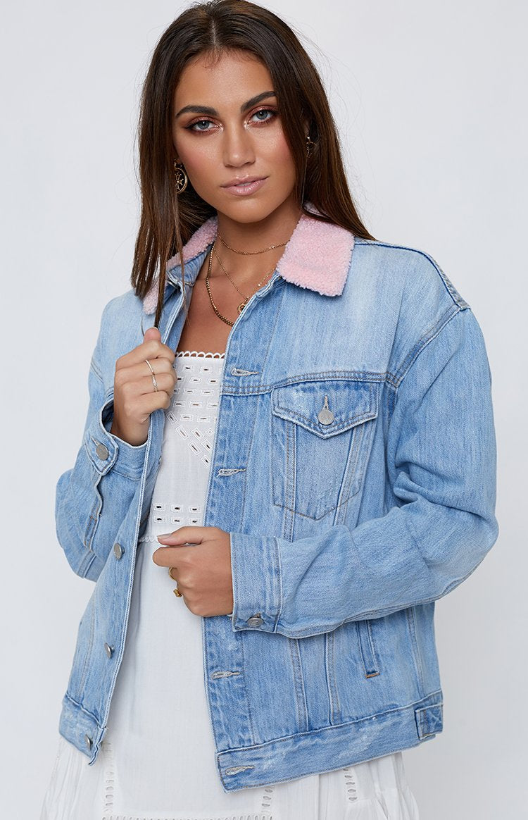 Ziggy Denim Loverboy Jacket Fairy Blue Stone
