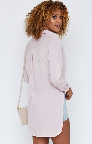 Bastille Long Sleeve Shirt Blush