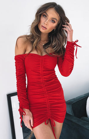 Indy Dress Red
