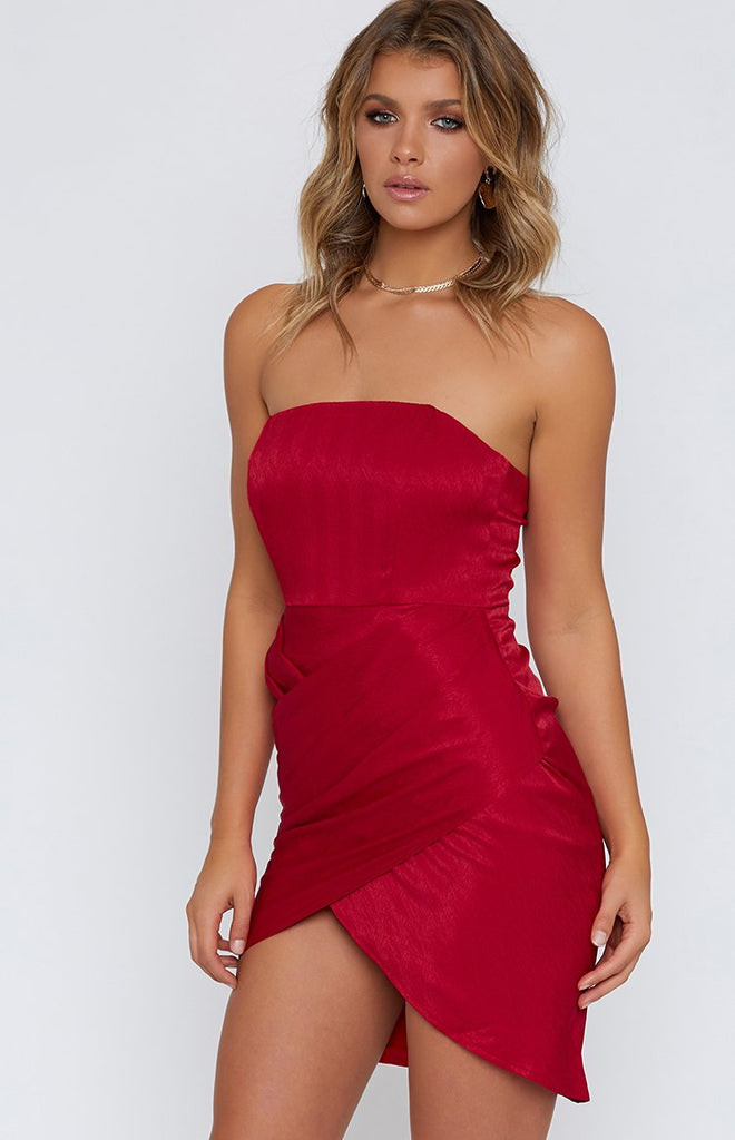 Christina Dress Red